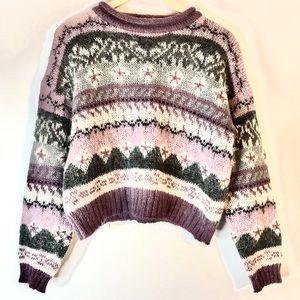 CUTEST Sweater Ever Fair Aisle Christopher & Banks
